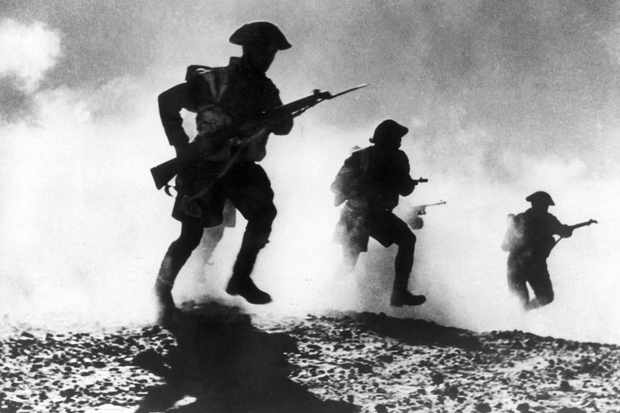 El Alamein battle in the Libyan desert, c1942. (Photo by Keystone-France/Gamma-Keystone via Getty Images)