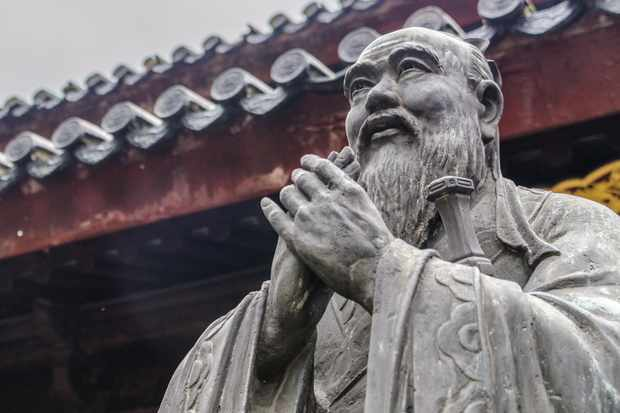 Statue of the great philosopher Confucius in Shanghai. Taken at the Shanghai Wen Miao, also known as the Shanghai Confucian Temple. (Photo by Getty Images)