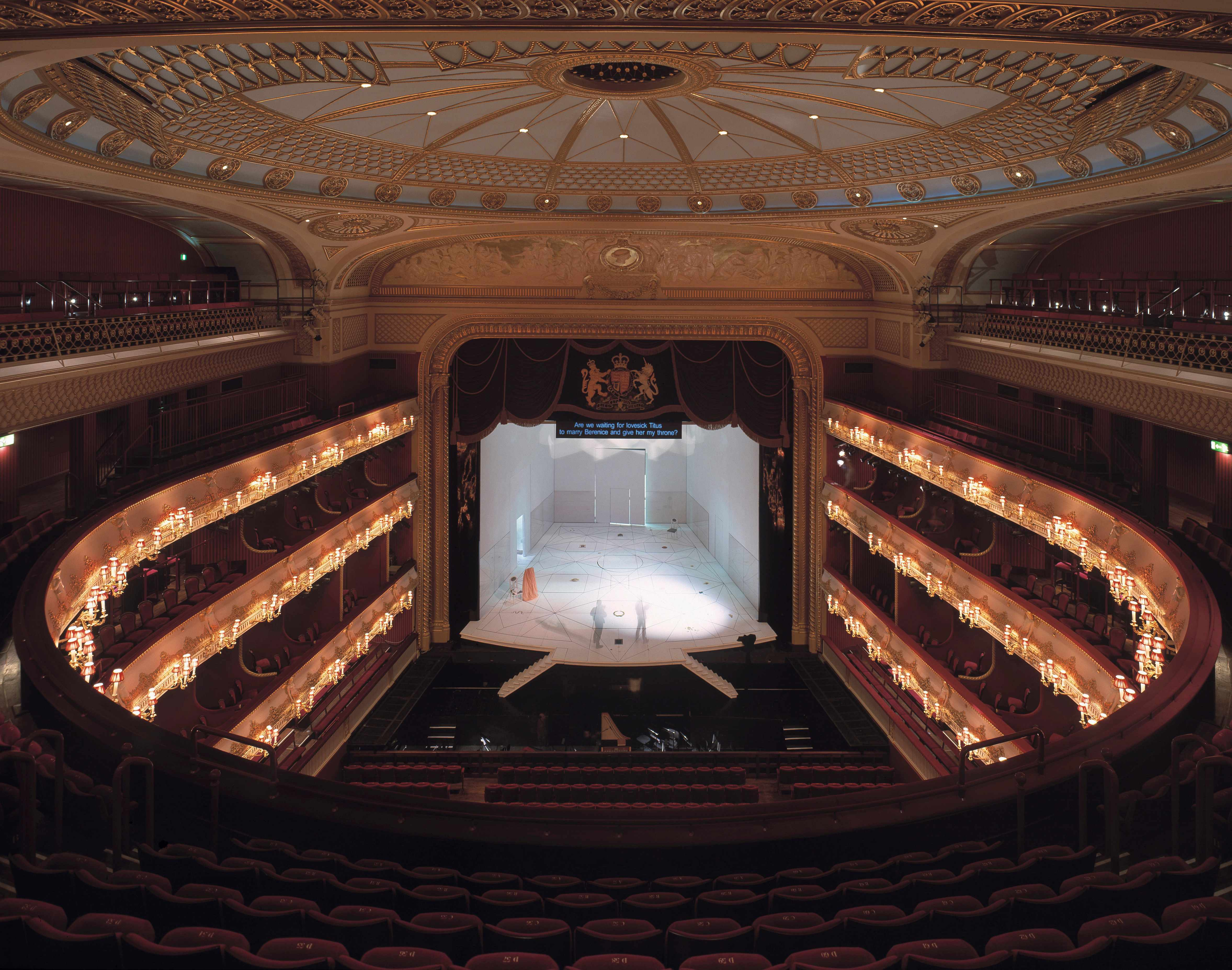 The Royal Opera House. (Getty Images)