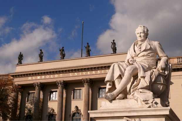 Monument to Alexander von Humboldt