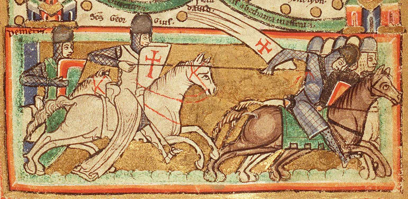 """""""The Knights Templare were able to flight across all terrains. They were the equivalent of the SAS, the Navy SEALS or the French Foreign Legion,"""" says Dan Jones. (Alamy)"""