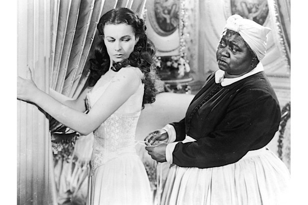 Hattie McDaniel (alongside Vivien Leigh) in 'Gone With the Wind'. (MGM Studios/Getty Images)