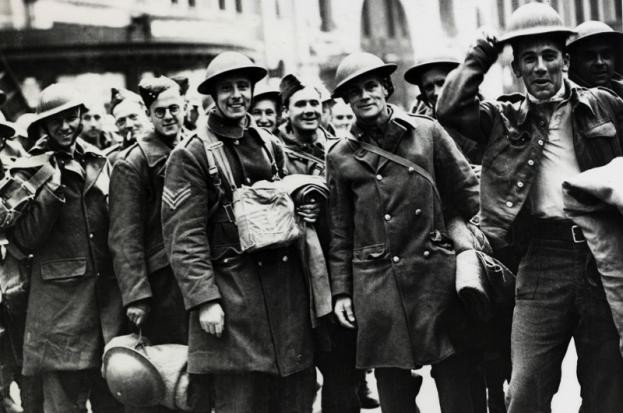Second World War soldiers