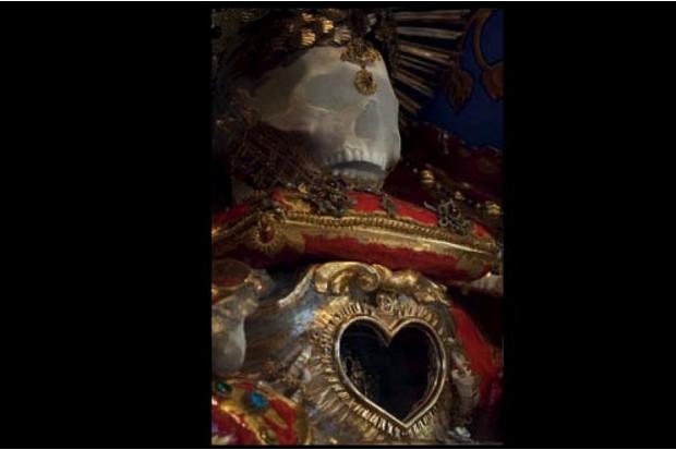 St Felix jewelled skeleton