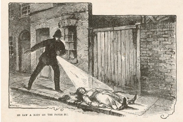 Police Constable Neil finds  the body of MARY ANN NICHOLS  in Buck's Row, Whitechapel        Date: 31 August 1888