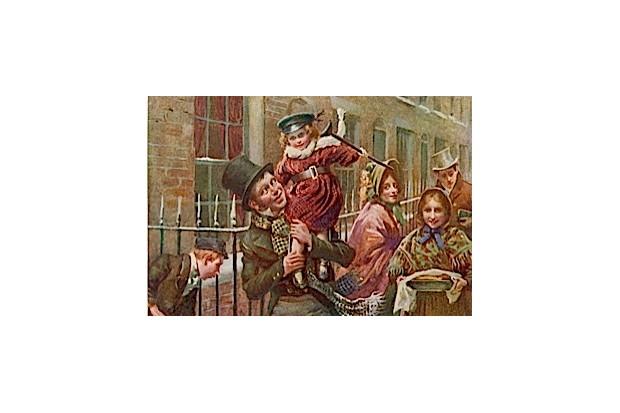 A Dickensian Christmas. (© Alamy/Mary Evans)