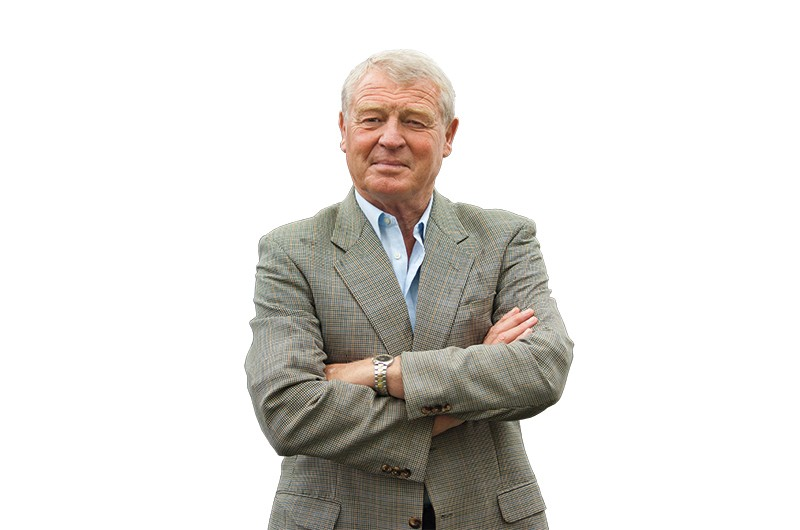 EDINBURGH, SCOTLAND - AUGUST 11: British politician and writer Paddy Ashdown poses during a portrait session held at Edinburgh Book Festival on August 11, 2007  in Edinburgh, Scotland. (Photo by Marco Secchi/Getty Images)