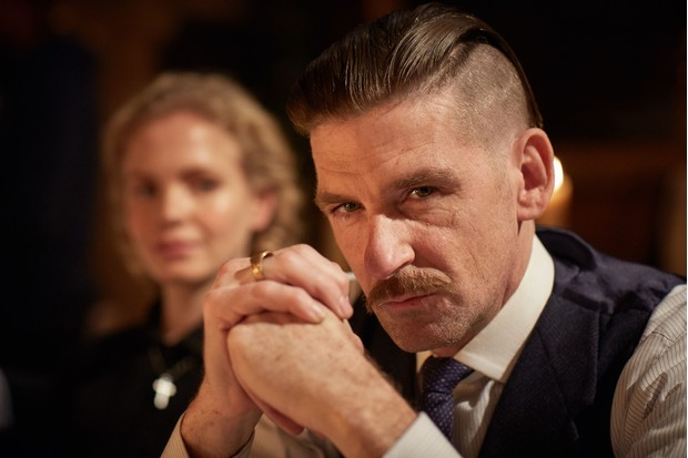 WARNING: Embargoed for publication until 00:00:01 on 26/04/2016 - Programme Name: Peaky Blinders 3 - TX: n/a - Episode: Peaky Blinders III Ep1 (No. 1) - Picture Shows:  Linda Shelby (Kate Phillips), Arthur Shelby (Paul Anderson) - (C) Caryn Mandabach Productions Ltd & Tiger Aspect Productions Ltd 2016 - Photographer: Robert Viglasky