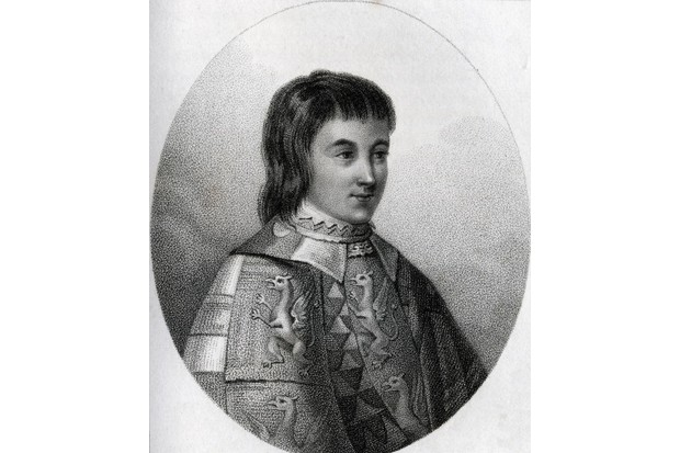 c1800: Anthony Woodville, 2nd Earl Rivers. Engraved by Gerimia from the book A Catalogue of the Royal and Noble Authors published 1806. (Photo by Universal History Archive/Getty Images)