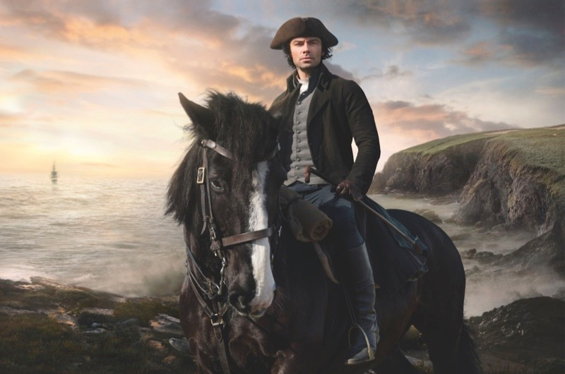 Adrian Turner as Poldark. (Photo by BBC Pictures)