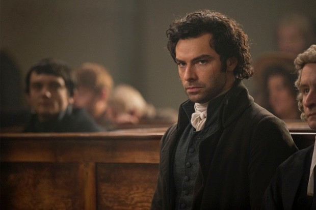 Aidan Turner as Ross Poldark in the TV series 'Poldark'. (Photo by Adrian Rogers)