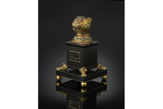 12._Gold_finial_from_Tipu_Sultans_throne_1790-1800_Mysore_South_India-8609052