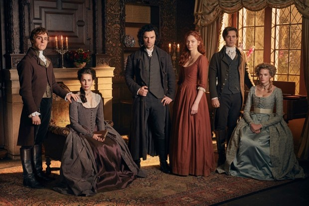 Winston Graham's Poldark novels remind us of aspects of the past that might otherwise remain in the shadows, says Hannah Greig. (Image credit: Mammoth screen/BBC)