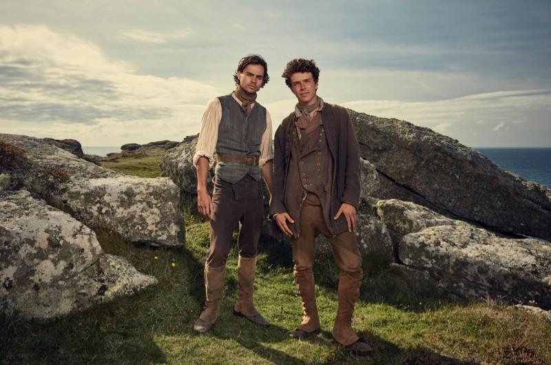 Sam and Drake Carne. (Mammoth Screen/BBC)