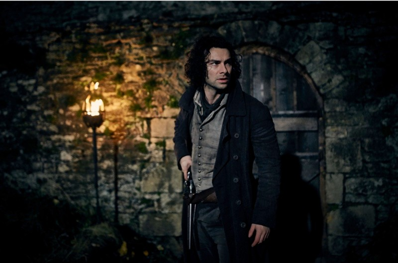 """Ross Poldark takes on a dangerous mission to liberate his friend Dwight from Quimper prison in France. Quimper was a real prison, which was """"notorious for its terrible conditions"""", says historian Hannah Greig. (BBC/Mammoth Screen/Robert Viglasky)"""