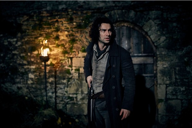 "Ross Poldark takes on a dangerous mission to liberate his friend Dwight from Quimper prison in France. Quimper was a real prison, which was ""notorious for its terrible conditions"", says historian Hannah Greig. (BBC/Mammoth Screen/Robert Viglasky)"