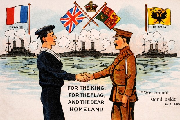 In World War I, What Did the Allies Want to Achieve