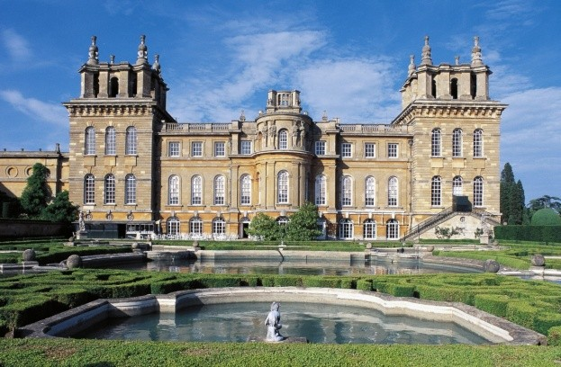 Blenheim Palace, Woodstock, England, built in around 1705. (Photo by DeAgostini/Getty Images)