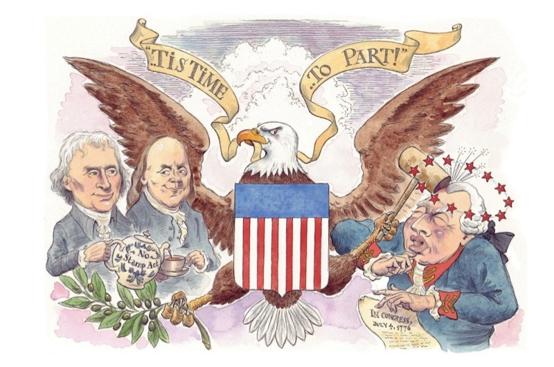 1776: the year of American independence