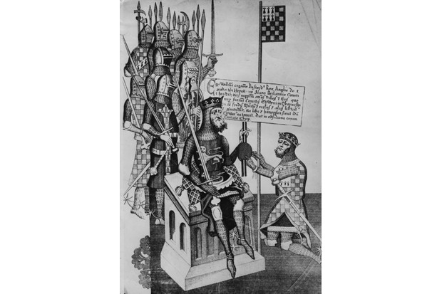 William I the Conqueror (1027–87), being crowned king at Westminster Abbey on Christmas Day 1066. (Photo by Hulton Archive/Getty Images)