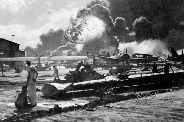 The Pearl Harbour attack