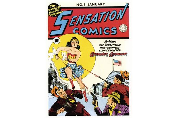 1940s USA Sensation Comics Magazine Advert