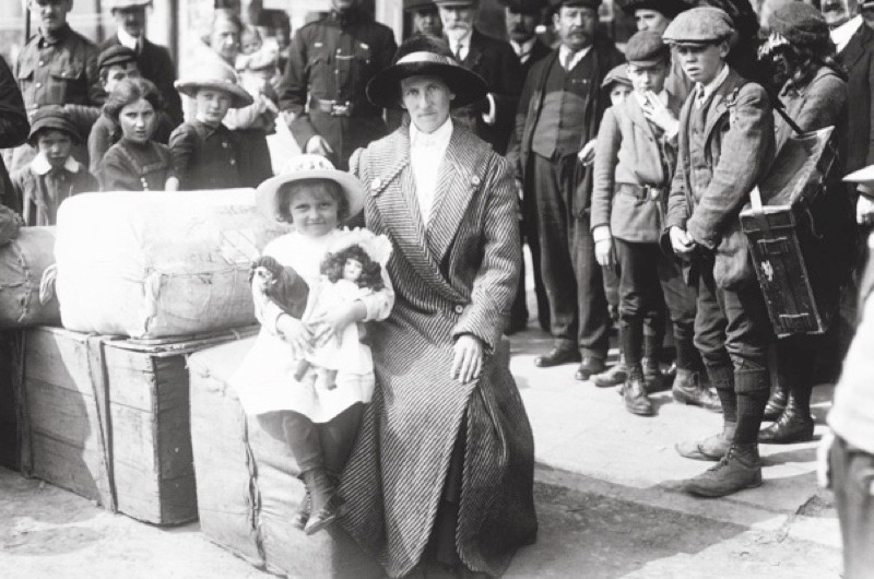 Two survivors of the Lusitania disaster