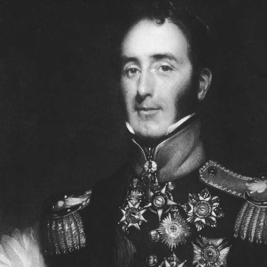 A portrait of Irish officer Sir John Conroy, c1830. (Photo by Hulton Archive/Getty)