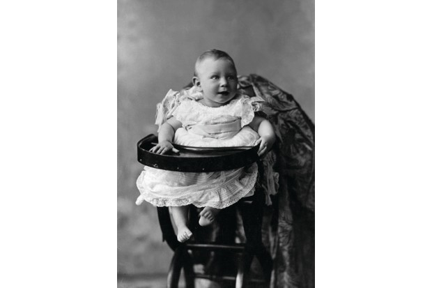 Baby Albert in 1896. (W&D Downey/Getty Images)