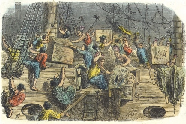 The global origins of the Boston Tea Party