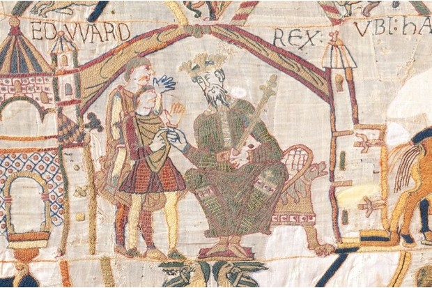 Bayeux unravelled the scenes behind the threads history extra - Tapisserie de bayeux animee ...