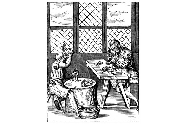 Dice-maker's workshop, 16th century