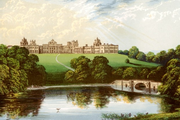 10 Facts About Blenheim Palace The Real Downton Abbey History