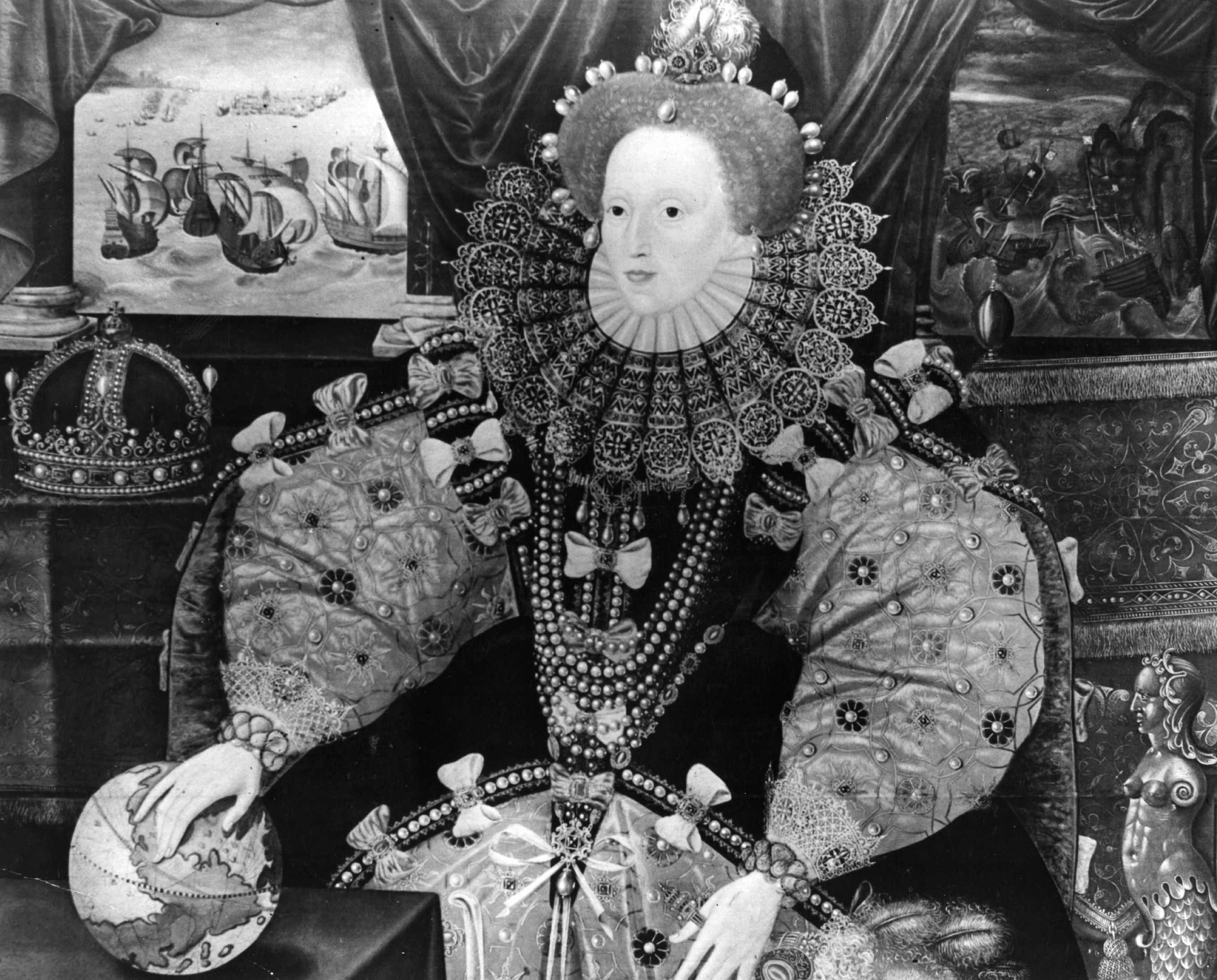 A portrait of Elizabeth I, c1565. (Photo by Topical Press Agency/Getty Images)
