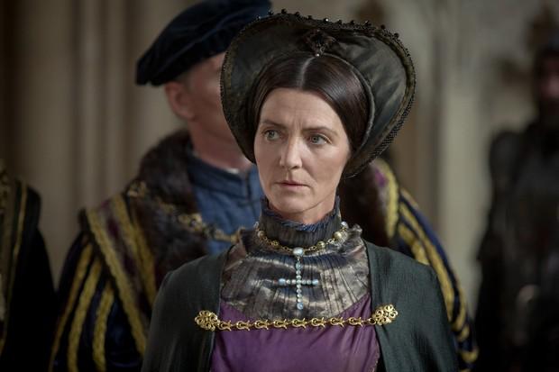 Michelle Fairley as Margaret Beaufort. (© Starz)