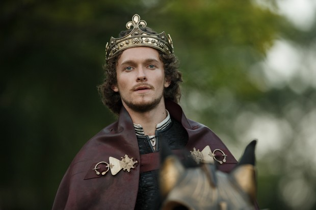Jacob Collins-Levy as Henry VII. (© Starz)