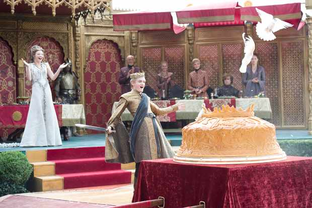 The food served at the wedding of Joffrey Baratheon and Margaery Tyrell may be inspired by accounts of ancient Roman excess, says Ayelet Haimson Lushkov. (© Home Box Office, Inc/Sky Atlantic)