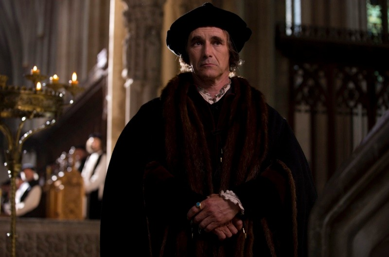 Mark Rylance as Thomas Cromwell in Wolf Hall. (BBC Pictures)