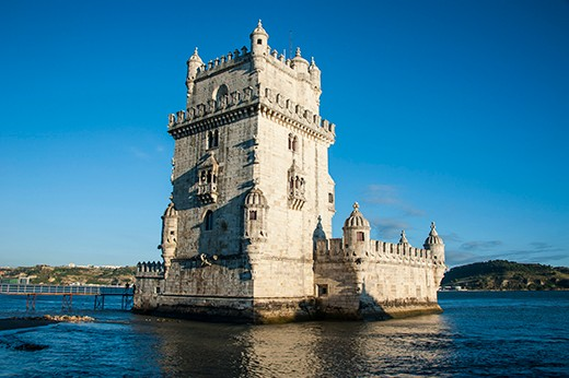 The tower of Belem, UNESCO World Heritage Site, Lisbon, Portugal, Europe
