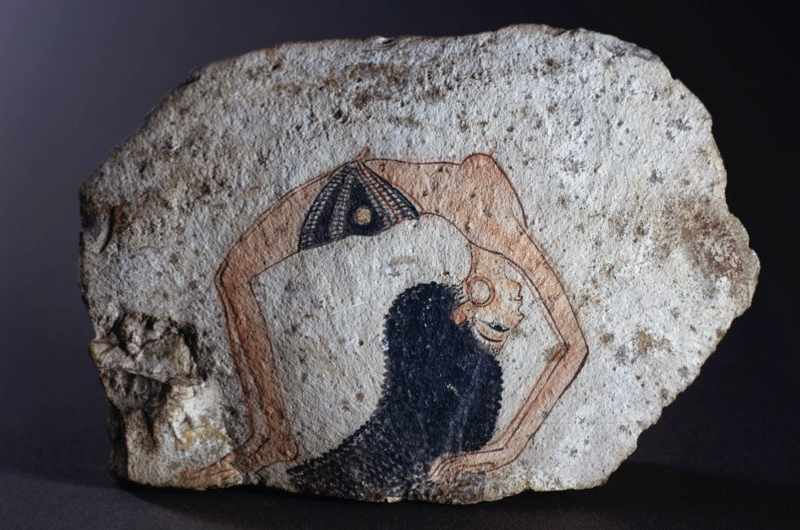 An acrobat dancer, c1200 BC. (Getty Images)