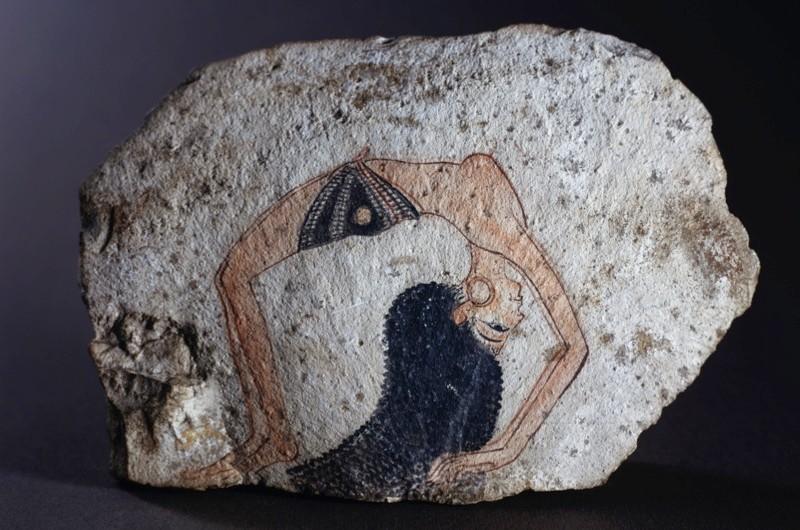 An acrobat dancer, c1200 BC. (Getty Images)