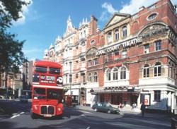 AJPX85 London Ryal court theatre Sloan Square
