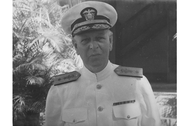 American Rear Admiral Husband E. Kimmel (1882 - 1968), circa 1940. Kimmel later served as Commander-in-chief, U.S. Pacific Fleet at the time of the attack on Pearl Harbor. (Photo by FPG/Archive Photos/Getty Images)