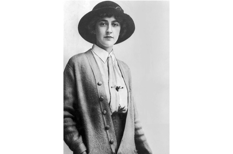 British mystery writer Agatha Christie, c1926. (Photo by Hulton Archive/Getty Images)