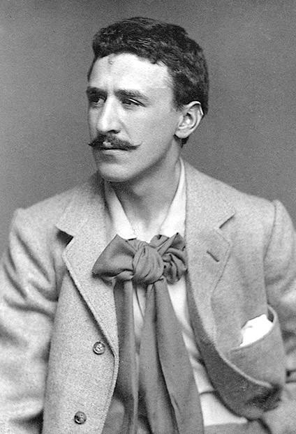 E08DNF Charles Rennie Mackintosh, Scottish architect and artist.