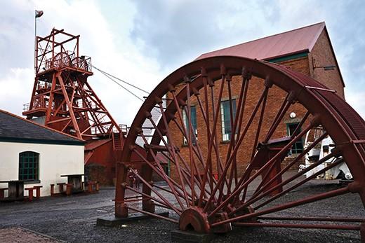 B6X917 Big Pit National Mining Museum of Wales, Blaenafon, Torfaen, South Wales. Image shot 2008. Exact date unknown.