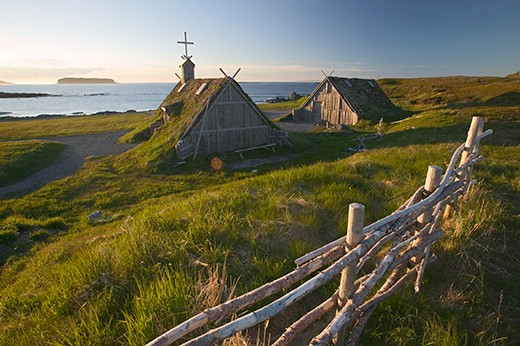 A reconstruction of a Viking church
