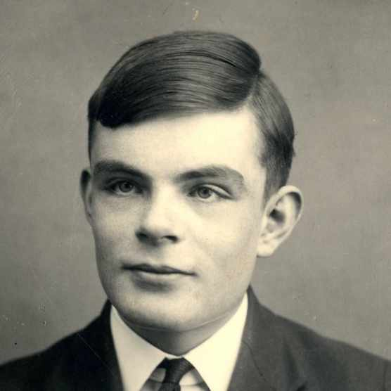 Alan Turing. (Photo by Getty Images)