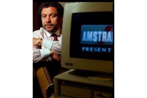 BPG1HT Alan Sugar of Amstrad Plc. 1989. Brentwood. Essex. United Kingdom.