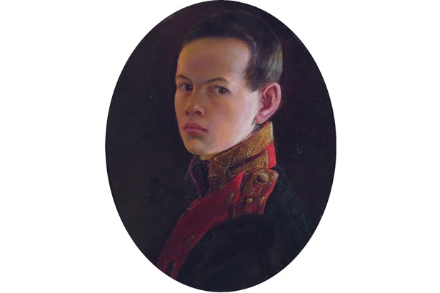 Portrait of the young Alexander Nikolaevich, by artist George Dawe. (Heritage Image Partnership Ltd/Alamy Stock Photo)